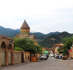 Beautiful view of the city of Mtskheta