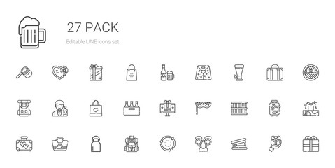 pack icons set
