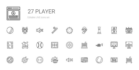 player icons set