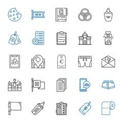 mark icons set