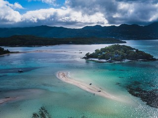 exotic Island in Seychelles