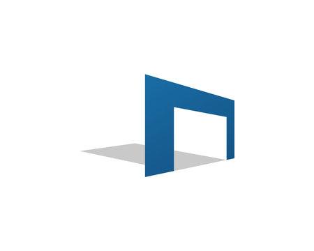 Simple garage logo
