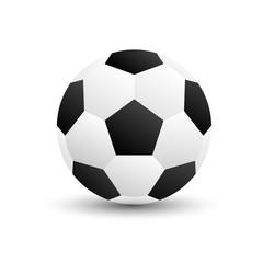 Soccer football vector illustration isolate   on white background.