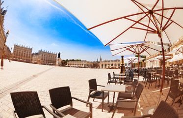 Place Stanislas square in Nancy downtown