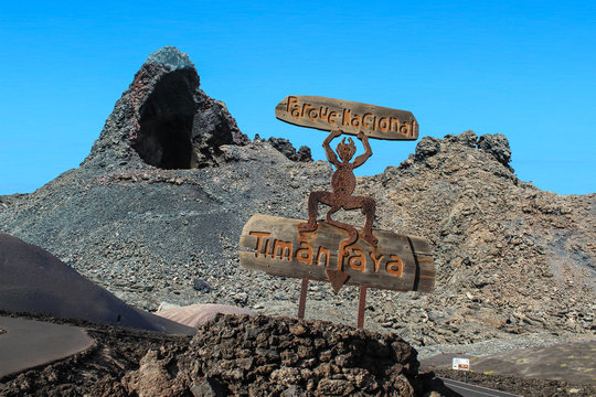 Timanfaya National Park - Lanzarote / Canarias / Spain