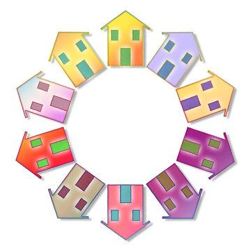 Global village concept image