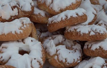 Rosquillas de Santa Clara, típicas en las fiestas de San Isidro en Madrid