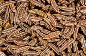 macro image of cumin seeds 2x magnification