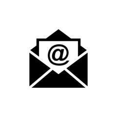 Mail icon vector. Email icon. Envelope illustration. Message
