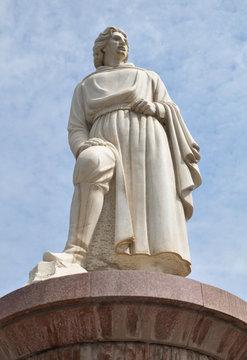 Statua di Marco Polo a Zhangye, Cina