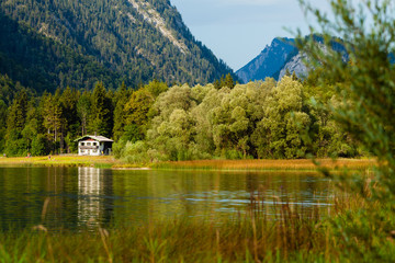 Weitsee bei Reit im Winkl in Oberbayern
