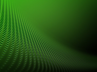 Abstract  green circles halftone background