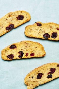 Close up of mandelbrot cookie