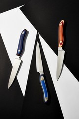 Close up of knifes