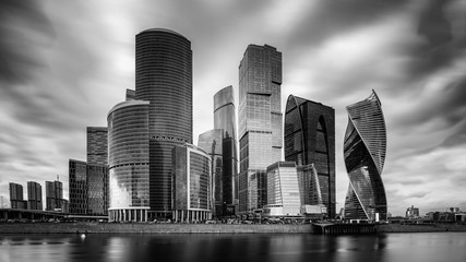 Buildings in Moscow, Russia