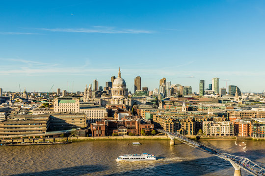 St. Paul's Cathedral and the London skyline, London