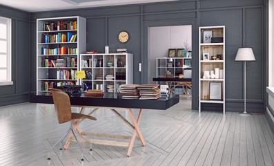 modern home office interior.