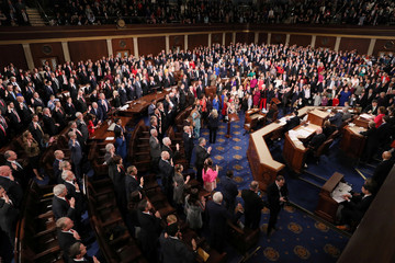 House Speaker Pelosi administers oath as U.S. House of Representatives during start of 116th Congress on Capitol Hill in Washington