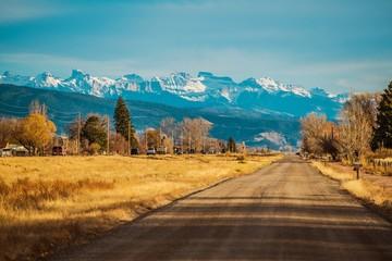 Durango Colorado US 550
