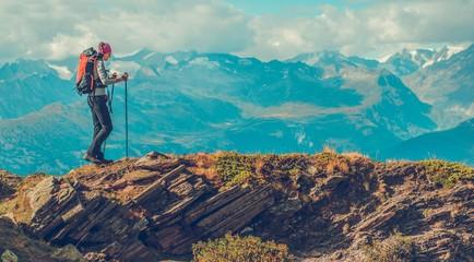 Mountain Trailhead Trekking
