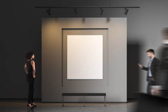 People in gray poster gallery