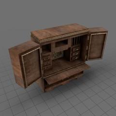 First Officer's Desk