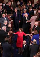 Pelosi is elected House Speaker as U.S. House of Representatives meets for start of 116th Congress on Capitol Hill in Washington