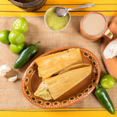 Fototapete - Typical Mexican cuisine