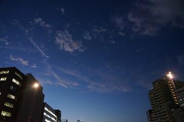 福岡 天神中洲エリア 都市夜景風景