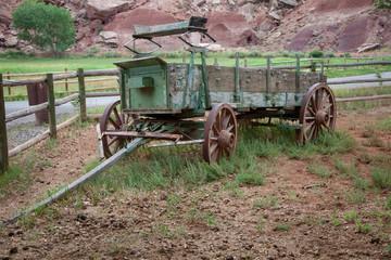 Antique Wagon in Central Utah