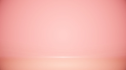 Studio room Blurred background Soft gradient pastel. With lighting Well use as Business backdrop, Template mock up for display of product Wall mural