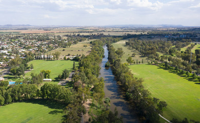 The central western New South Wales town of Cowra.