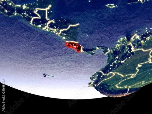 Satellite view of Costa Rica from space at night ... on iran satellite, central america satellite, vietnam satellite, caribbean satellite, american samoa satellite, tahiti satellite, cuba satellite, australia satellite, england satellite, argentina satellite, new zealand satellite, honduras satellite, united states satellite, barbados satellite, papua new guinea satellite, somalia satellite, latin america satellite, north america satellite, florida satellite, sri lanka satellite,