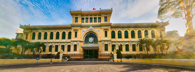 Saigon Central Post Office, Vietnam. Panorama