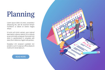 Planning of Schedule, Working Tasks Optimization