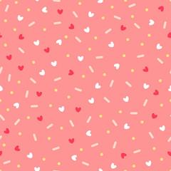Confetti with hearts