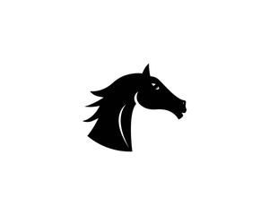 Horse head icon vector illustration