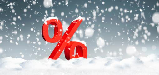 Winterschlussverkauf.
