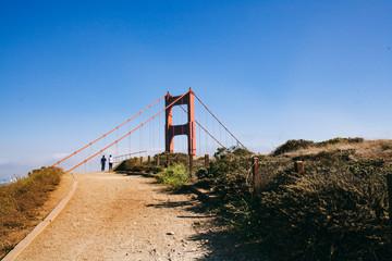 Golden Gate from Battery Spencer
