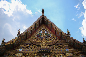 The Roof of Wat Hua Lampong (Hua Lampong Buddhist Temple)
