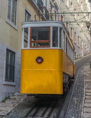 The Lavra Funicular or Elevador da Lavra, Lisbon, Portugal