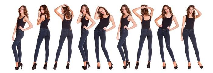 Obraz Collage sexy fashion models - fototapety do salonu