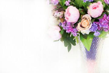 flower decorate in Vase