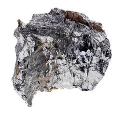 raw ilmenorutile stone on white