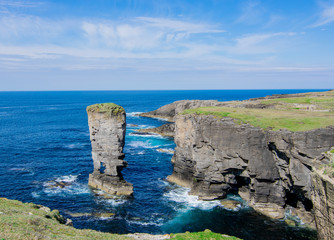 Yesnaby Cliffs - Coast line of Orkney, Scotland