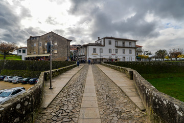 The Portuguese town of Valenca