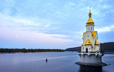 Church on Dnepr River