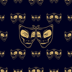 New_pattern_0213_Theatrical mask_