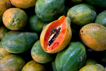 KAILUA-KONA: Fresh papaya.