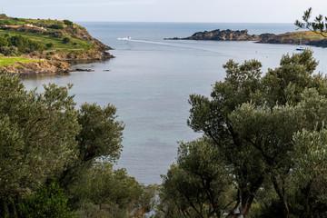 Port Lligat, Mediterranean fishing village.  home to the Spanish , surrealist artist Salvador Dalí for almost three decades.